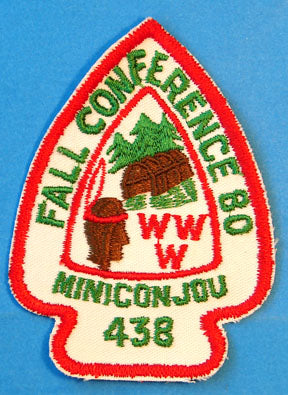 Lodge 438 Patch eA-1980