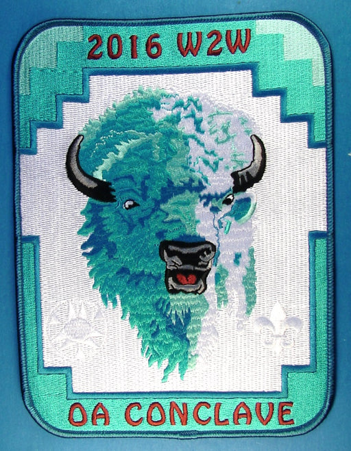 2016 W2W Section Conclave Jacket Patch