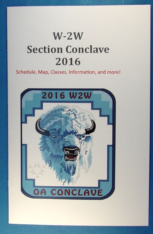 2016 W2W Section Conclave Participant Booklet