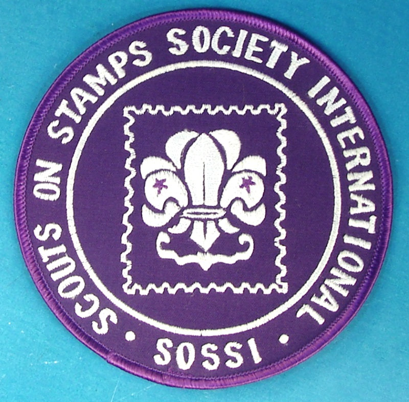 Scouts on Stamps Society Jacket Patch