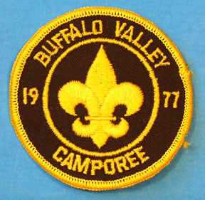 1977 Camporee Patch Buffalo Valley District