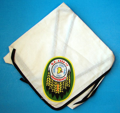1967 Section 1C Area Conference Neckerchief