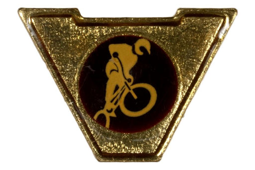 Varsity Scout Letter Pin Freestyle Biking