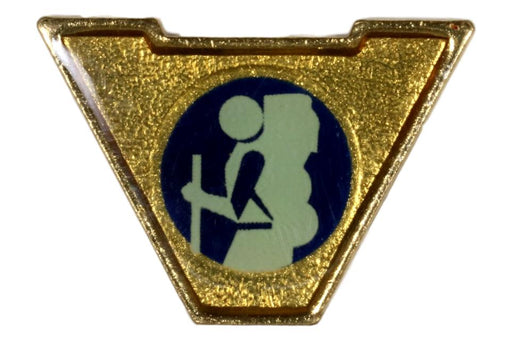 Varsity Scout Letter Pin Backpacking