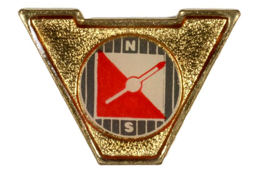 Varsity Scout Letter Pin Orienteering