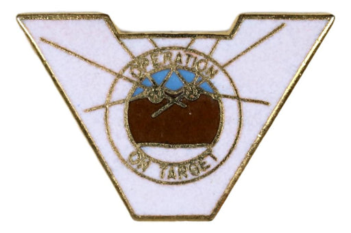 Varsity Scout Letter Pin Operation On-target Type 1
