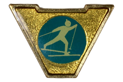 Varsity Scout Letter Pin Cross-country Skiing