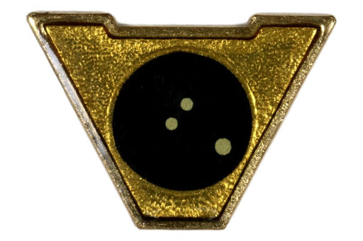 Varsity Scout Letter Pin Bowling