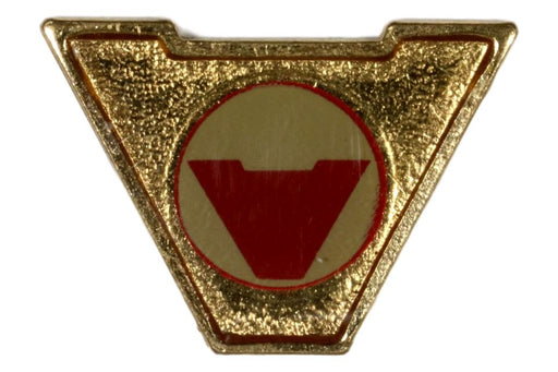 Varsity Scout Letter Pin Discovering America