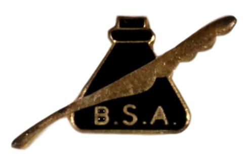Journalism Quill Lapel Pin