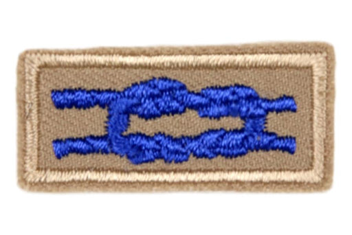 Sea Scout Quartermaster Knot on Tan