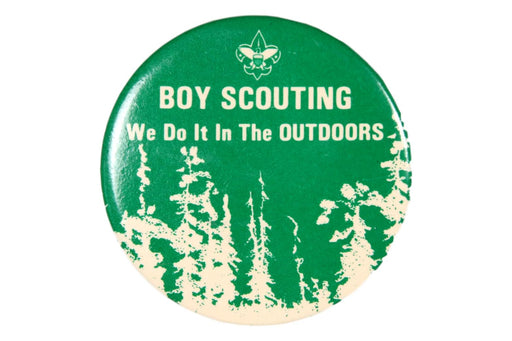 We Do It In The Outdoors Pin Back