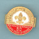 50th Anniversary Neckerchief Slide