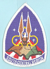 South Central Region Patch Plastic Back