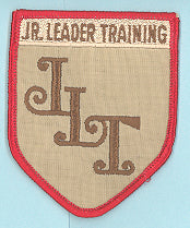 Jr. Leader Training Patch 1960s