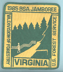 1985 NJ Forestry Patch