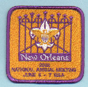 2002 National Annual Meeting Patch