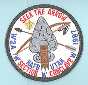 1987 Section W2A Conclave Patch