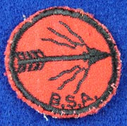 Blazing Arrow PM Felt Black Back
