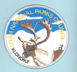 2004 Utah National Parks Klondike Derby Patch