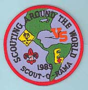 1989 Scout O Rama Patch
