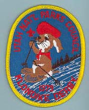 1979 Utah National Parks Klondike Derby Patch Light Background