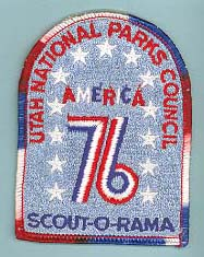 1976 Scout O Rama Patch