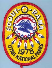 1978 Scout O Rama Patch
