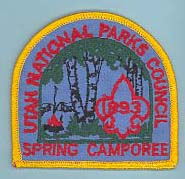 1993 Spring Camporee Patch