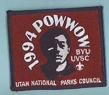 1994 BYU Merit Badge Pow Wow Patch