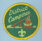 1975 Fall Camporee Patch