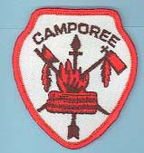 1974 Fall Camporee Patch Small