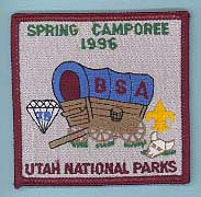 1996 Spring Camporee Patch
