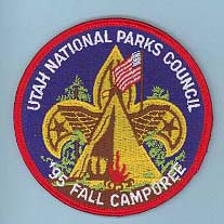 1995 Fall Camporee Patch