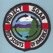 Project SOAR Patch BSA Black Circle