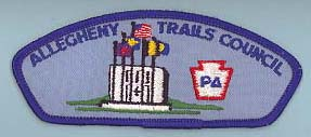 Allegheny Trails CSP T-3 Plain Back