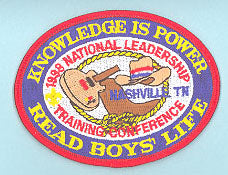 1998 National Leadership Training Conference Patch