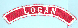 Logan Red and White City Strip