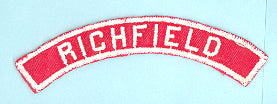 Richfield Red and White City Strip