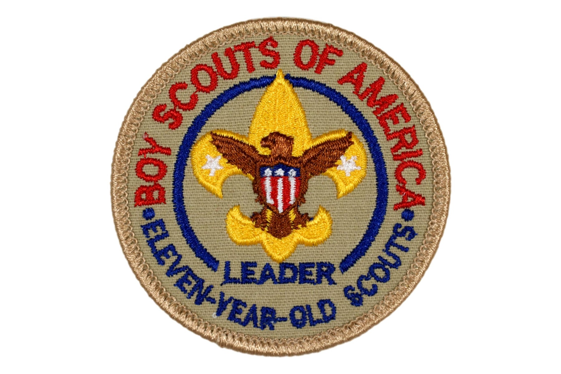 Eleven Year Old Scouts Leader Patch YEL FDL