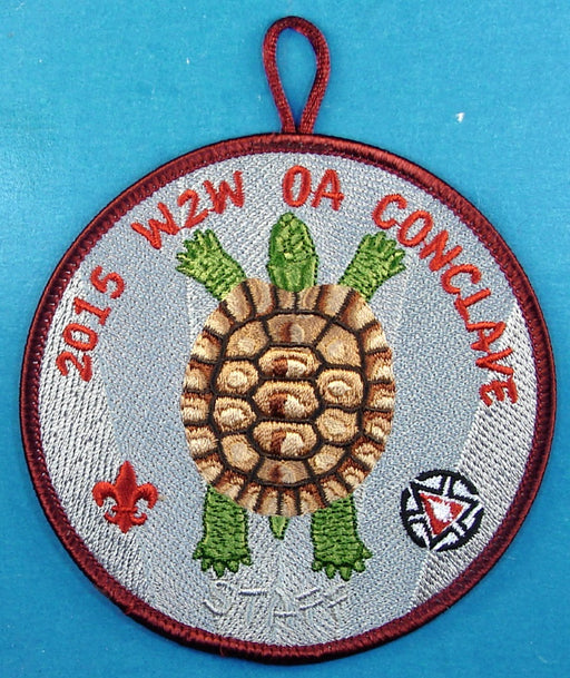 2015 Section W2W Conclave Patch Staff