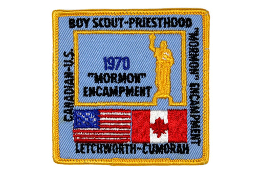1970 Mormon Encampment Patch