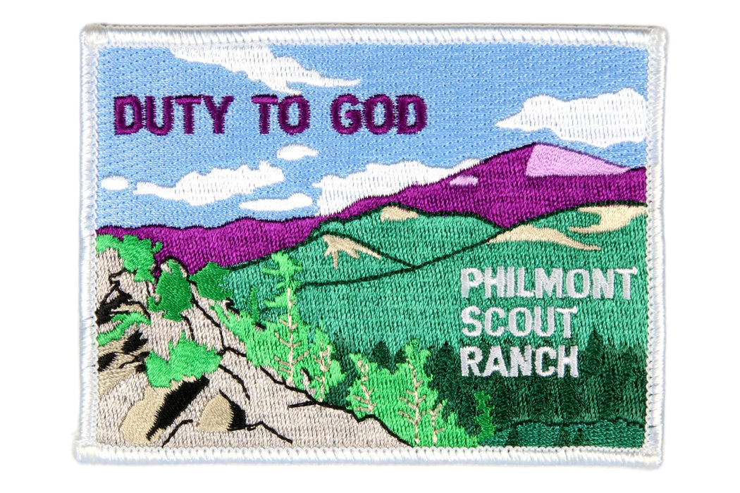 Philmont Duty to God Patch