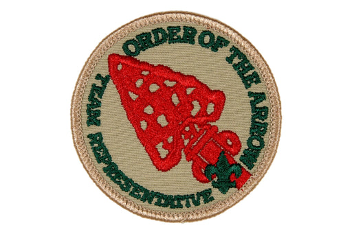 Team Representative Order of the Arrow Patch