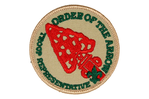 Troop Representative Patch