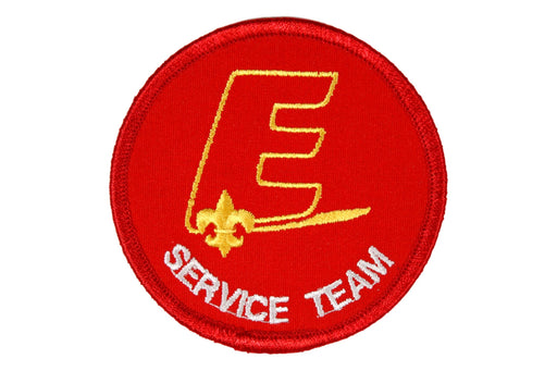 Service Team Patch New Style E