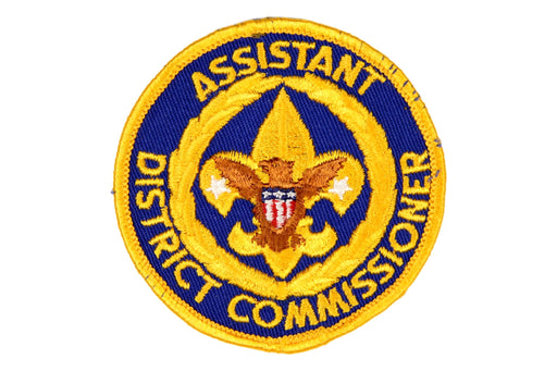 Assistant District Commissioner Patch 1970