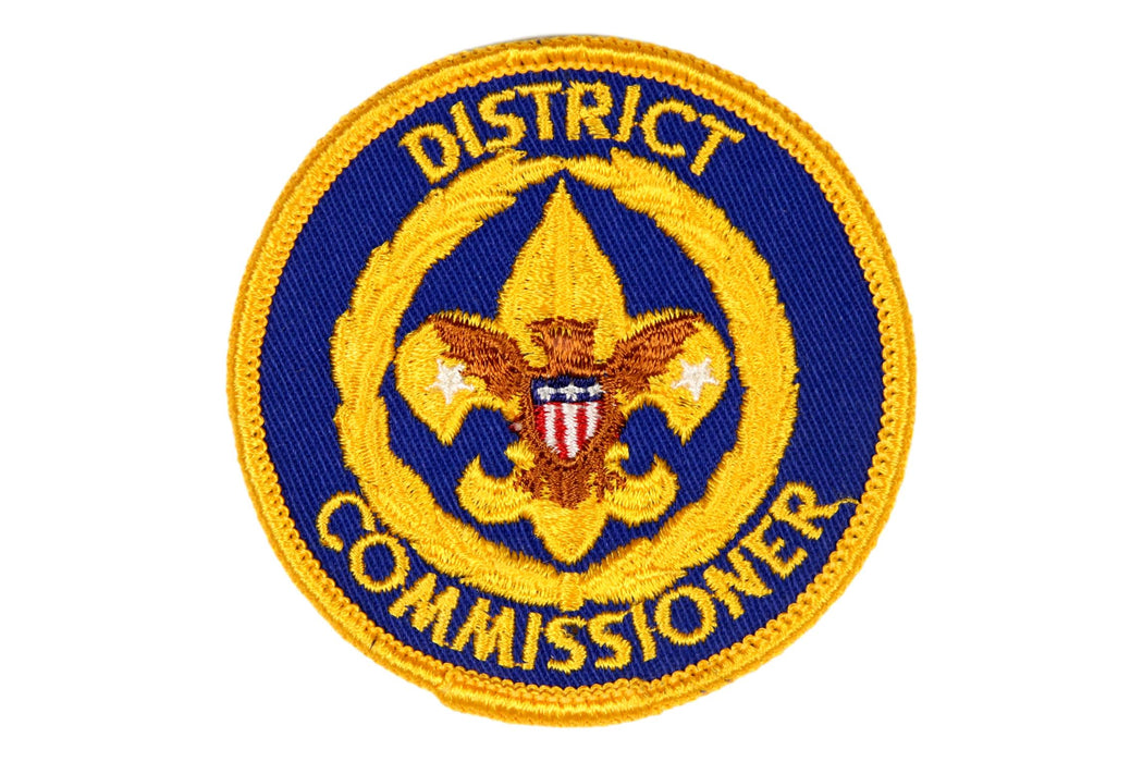District Commissioner Patch 1970s