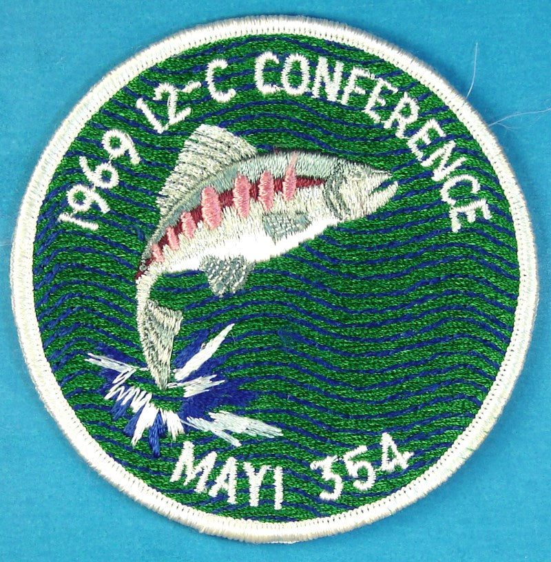 1969 Section 12C Conference Patch Lodge 354