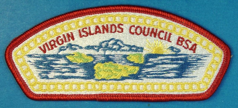 Virgin Islands CSP S-2 Plain Back
